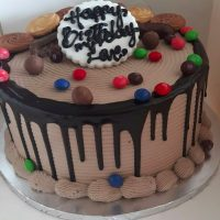Buy dripping darker chocolate cake online Lagos Abuja Port Harcourt