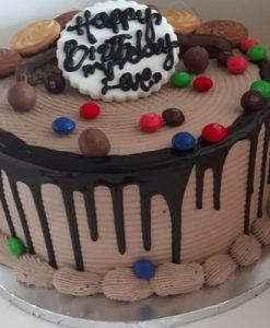 Buy dripping darker chocolate cake online Lagos Abuja Port Harcourt