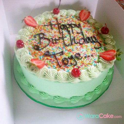 green fiesta cake online waracake
