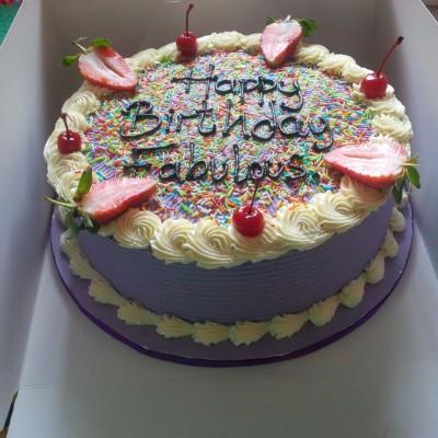 Buy Purple Fiesta Cake online Lagos Abuja Port Harcourt
