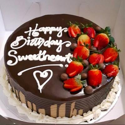 Sweet Heart Ganache Cake Waracake