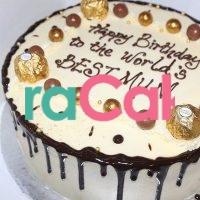 chocolate creme cake valentines cake online