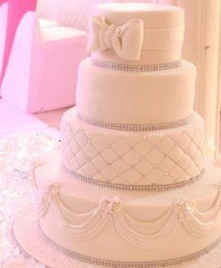 4 step wedding cake