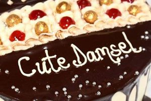 birthday cake messages