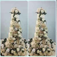 wedding bouquet cake
