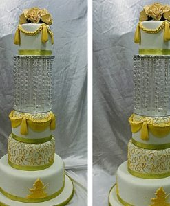 queen fondant wedding cake