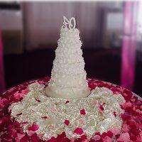 six steps wedding cakes