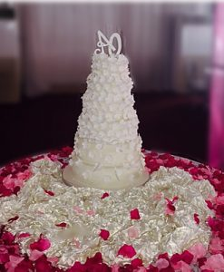 six steps wedding cakes