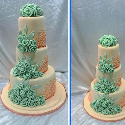 Eco Wedding Cake Waracake
