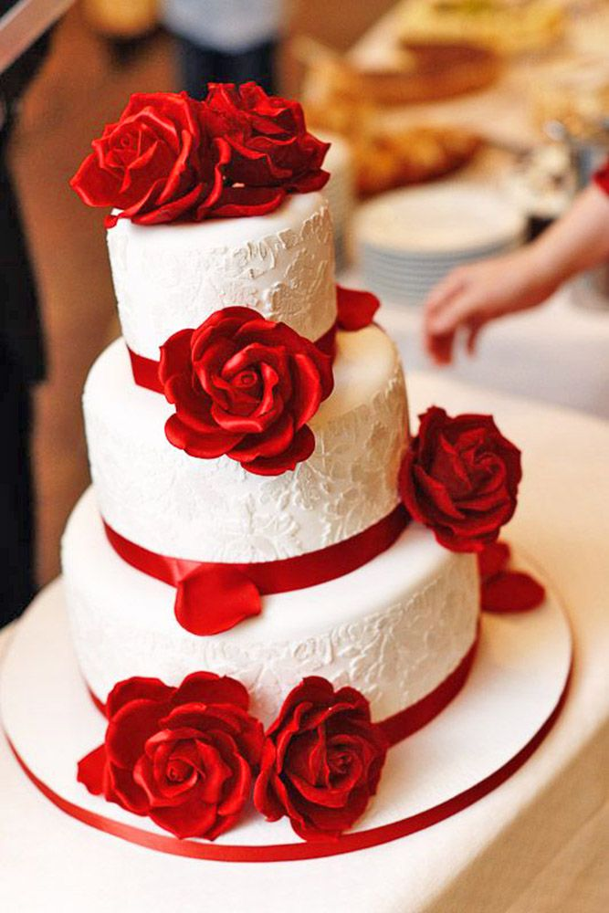 35 Attractive Wedding Cakes Pictures For Your Big Day Waracake