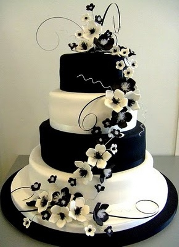 images of black and white wedding cakes 35 attractive wedding cakes pictures for your big day 16333