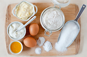 egg flour milk