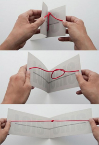 knots wedding invitation