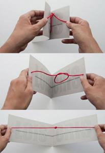 knots wedding invitation