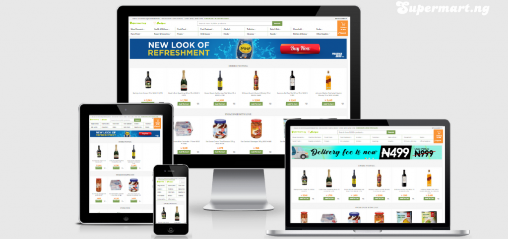 Nigeria's largest online supermarket and same day grocery delivery service