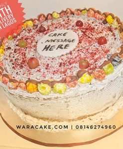 warapop birthday cake available for delivery in lagos