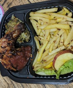 chips with chicken