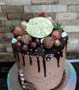 Berryblast choco cake