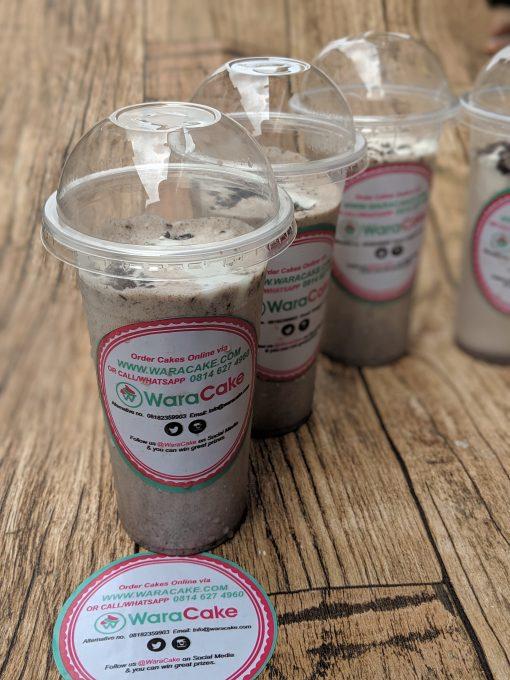 oreos milkshake