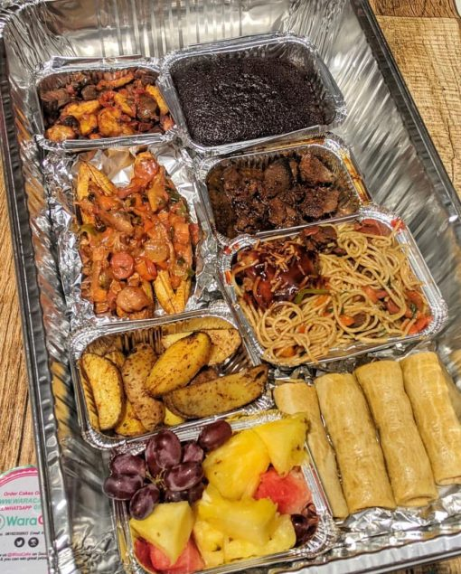 food platter waracake