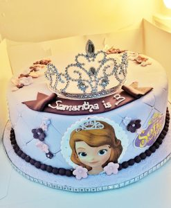 Frozen -Princess cake