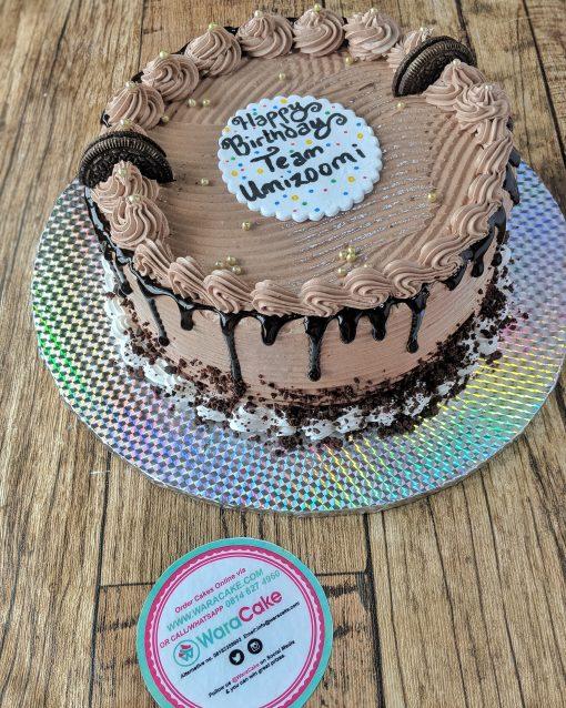 cookie choco cake