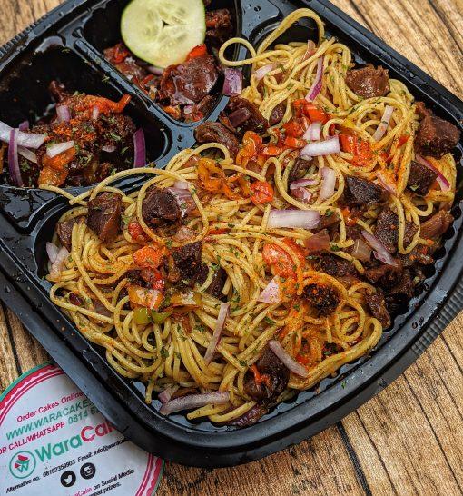 goat-meat pasta
