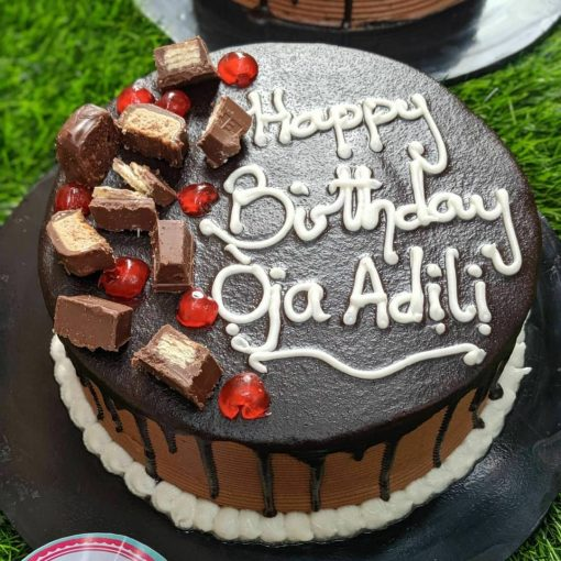 chocorella birthday cake
